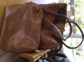 Shopper and handbag