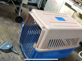 Travel crate for dogs, cats, geese large birds