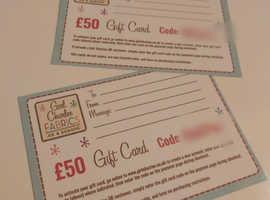SEWING FABRIC - Gift Vouchers