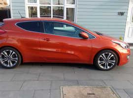 Kia pro Ceed, 2013 (63) Orange Hatchback, Manual Diesel, 60,800 miles
