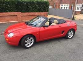 MG Mgf convertible, 1997 (R) Red Sports, Manual Petrol, 24,543 miles