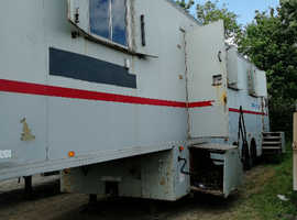 A tiny home or a large living-in semi-trailer, depends how you look at it!