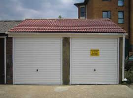 2x Single brick built garages to let.