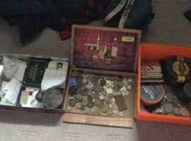 Lots of old coins