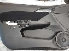 HONDA CIVIC 2007 5 DOOR NEAR SIDE FRONT DOOR CARD