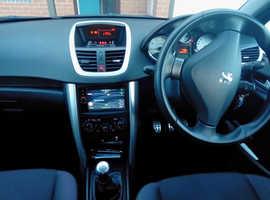 Peugeot 207, 2011 (61) 1.4l, Sportium, low miles.