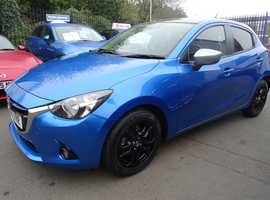 Mazda MAZDA 2, 2015 (65) Blue Hatchback, Manual Petrol, 12,900 miles