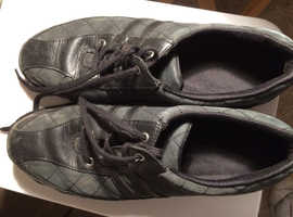 Black Hotters lace ups size 7