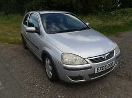 Vauxhall Corsa, 2005 93,600 miles. Any reasonable offer accepted