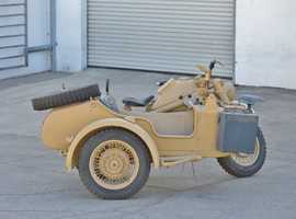 1942 Zundapp KS750 Project Bike