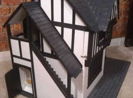 dolls house emporium collectable tudor bakery with all contents