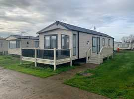 Private static caravan for sale at Broadland Sands, Suffolk. Delta Hadley 2017
