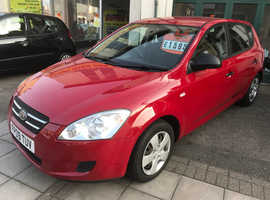 Kia Ceed, 2009 (09) Red Hatchback, Manual Petrol, 66,487 miles