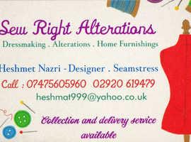Alterations, Repairs, Dressmaking & Home Furnishings