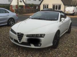 Alfa Romeo Spider, 2009 (09) White Convertible, Manual Petrol, 45,385 miles