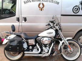 FABULOUS 2003 100 YEAR ANNIVERSARY HARLEY DAVIDSON FXDL DYNA LOW RIDER, 1450cc ,LOW MILEAGE AND MANY EXTRAS