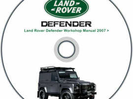 Land Rover Defender Workshop Manual 2007 Onwards