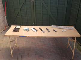 Wallpaper Table + Full Set of Wallpapering Tools