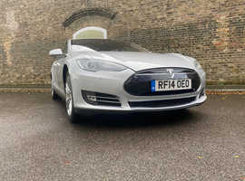 Tesla Model S, 2014 (14) grey hatchback, Automatic Other, 94955 miles