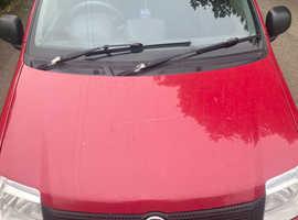 Fiat Panda, 2010 (10) Red Hatchback, Manual Petrol, 116,405 miles