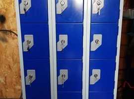 Bio-cote 12 powered locker