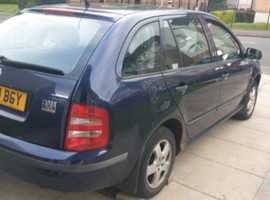 Skoda Fabia, 2003 (52) Blue Estate, Manual Petrol, 96,000 miles