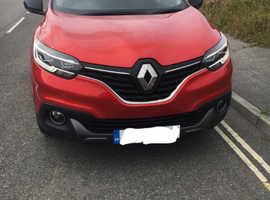 Renault KADJAR, 2016 (16) Red Hatchback, Manual Petrol, 52,000 miles
