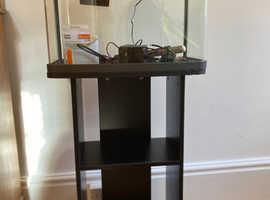 Panorama 40L fish tank and stand