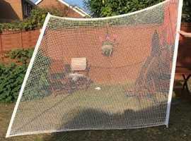 Golf practice driving net 2m x 2.3m, excellent condition