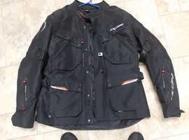 Ixon motor bike jacket and trousers