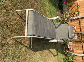 Unused Sunloungers