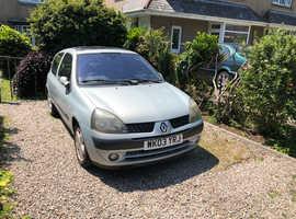 Renault Clio, 2003 (03) Silver Hatchback, Manual Petrol, 49,000 miles