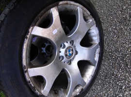 4 BMW Alloys with tires