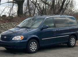 Kia Sedona, 2005 (05) Blue MPV, Automatic Diesel, 154,000 miles