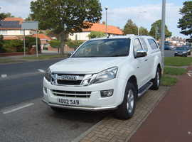 ISUZU D-MAX, YUKON 2014 (64) White, 4x4, Manual, Diesel, Twin Turbo.