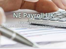 NE Payroll UK - Providing a complete and bespoke outsourced payroll service