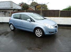 Vauxhall Corsa, 2006 (56) Blue Hatchback, Manual Petrol, 85,000 miles