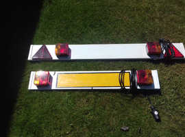 Trailer Board with Lights