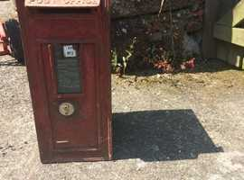 Genuine edward VII post box