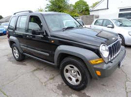 Jeep Cherokee, 2005 (05) Black Estate, Manual Petrol, 59,111 miles