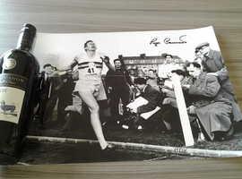Roger Bannister autographed photograph.