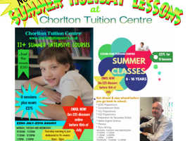 SUMMER HOLIDAY TUITION