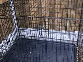 Large dog-cat travel crate