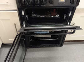 Hotpoint HAJ60K Gas Cooker with Double Oven