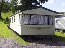 Sited Static Caravan For Sale On West Coast Of Scotland - Free Site Fees - 11 Month Park - No Age Limit
