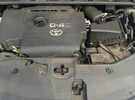 Toyota Avensis, 2009 (59) Black Estate, Manual Diesel, 121,000 miles