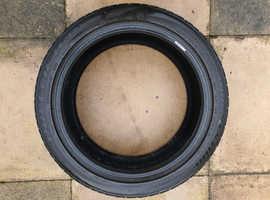 Bridgestone Runflat part worn tyre - 225/45/R18 91V