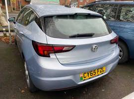 Vauxhall Astra, 2016 (65) Silver Hatchback, Manual Diesel, 101,020 miles