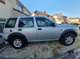 Land Rover Freelander, 2005 (05) Silver Estate, Manual Diesel, 111,487 miles