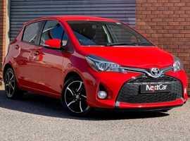 2014 Toyota Yaris 1.33 VVT-I Sport Edition Stunning Low Mileage 5 Door Sport.....Full Service History